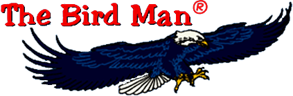 The Bird Man Logo