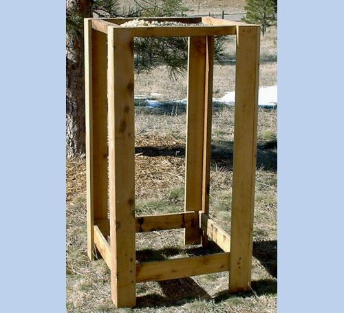 Large Ground Bird Feeder