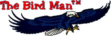 The Bird Man Mobile Retina Logo
