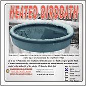 Plastic Bird Baths